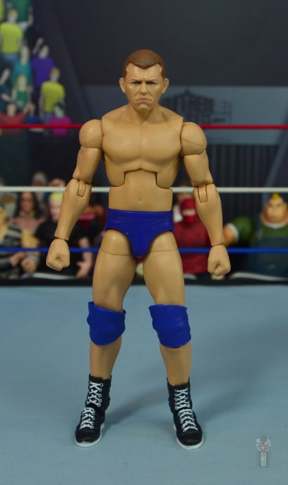 wwe elite bob backlund figure review - front