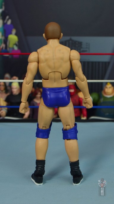 wwe elite bob backlund figure review - rear