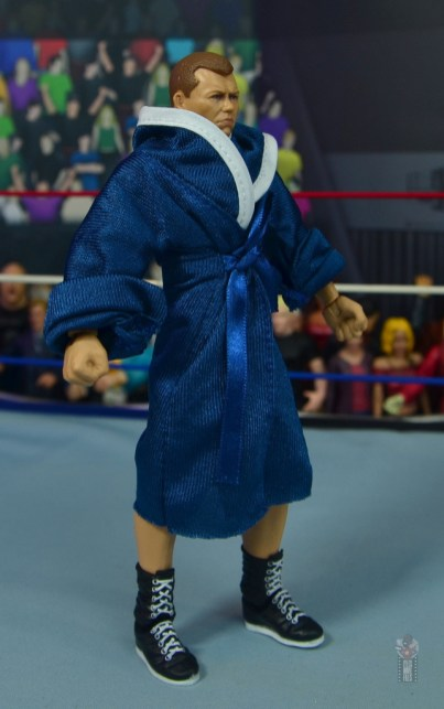 wwe elite bob backlund figure review - robe right side