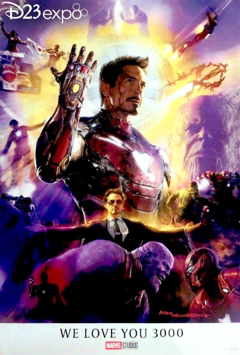 iron man tribute poster