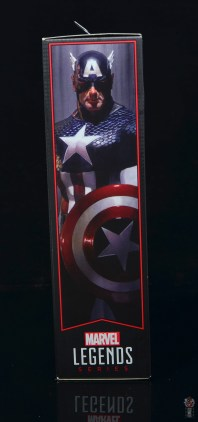 marvel legends captain america figure review 80th anniversary - package side