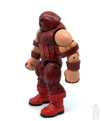 marvel legends colossus and juggernaut figure review 80th anniversary - juggernaut left side