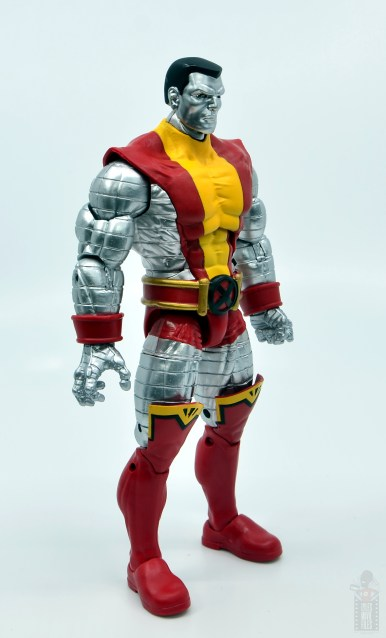 marvel legends colossus vs juggernaut figure review - 80th anniversary - colossus right side