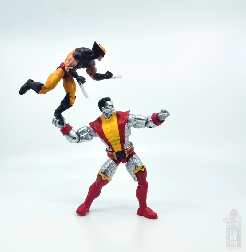 marvel legends colossus vs juggernaut figure review - 80th anniversary - fastball special