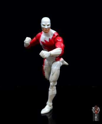 marvel legends guardian figure review - on the run