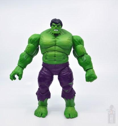 marvel legends hulk vs wolveringe figure review 80th anniversary - hulk front