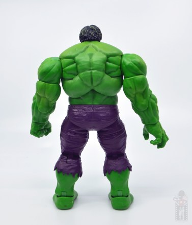 marvel legends hulk vs wolveringe figure review 80th anniversary - hulk rear
