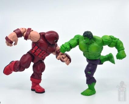 marvel legends hulk vs wolveringe figure review 80th anniversary - hulk vs juggernaut