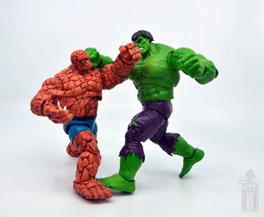 marvel legends hulk vs wolveringe figure review 80th anniversary - hulk vs thing