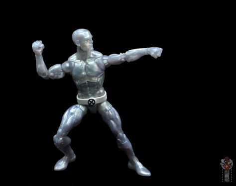 marvel legends iceman figure review - aiming