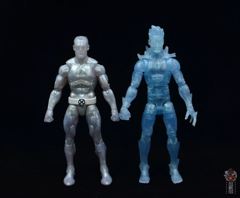 marvel legends iceman figure review - scale with first iceman