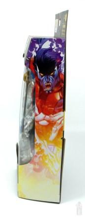 marvel legends nightcrawler figure review package side
