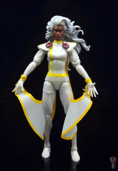 marvel legends storm figure review - front