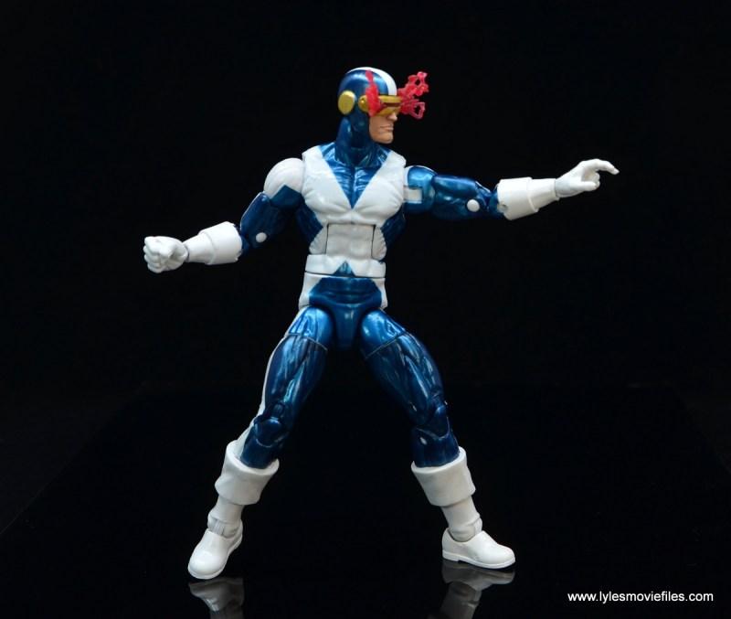 marvel legends x-factor cyclops figure review - directing