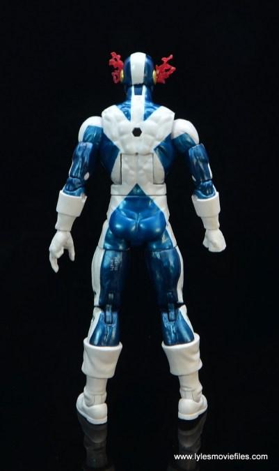 marvel legends x-factor cyclops figure review - rear