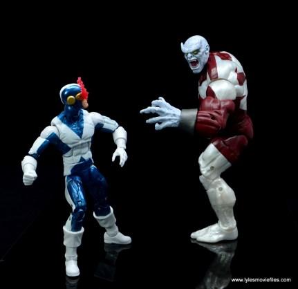 marvel legends x-factor cyclops figure review - vs caliban