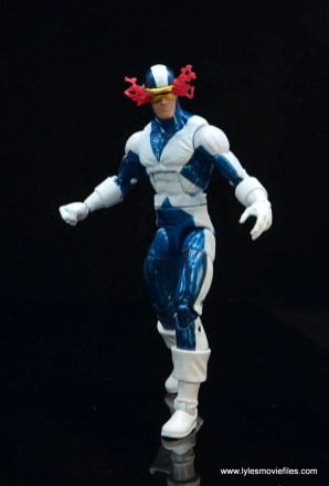 marvel legends x-factor cyclops figure review - walking