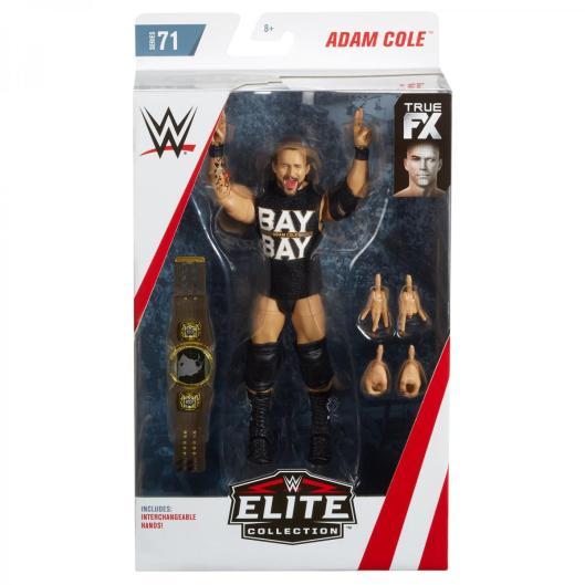 wwe elite 71 adam cole - package