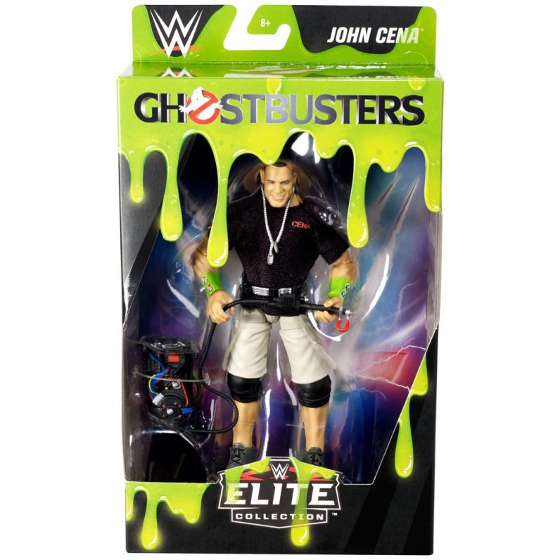 wwe ghostbusters john cena figure - package
