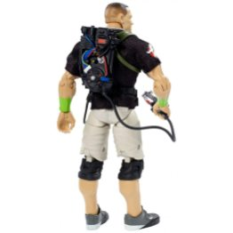 wwe ghostbusters john cena figure - rear