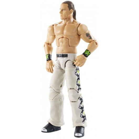 wwe ghostbusters shawn michaels figure - accessories off