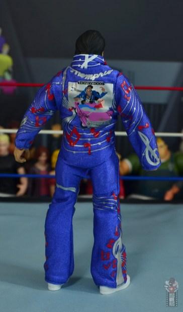 wwe retrofest honky tonk man figure review - jumpsuit rear