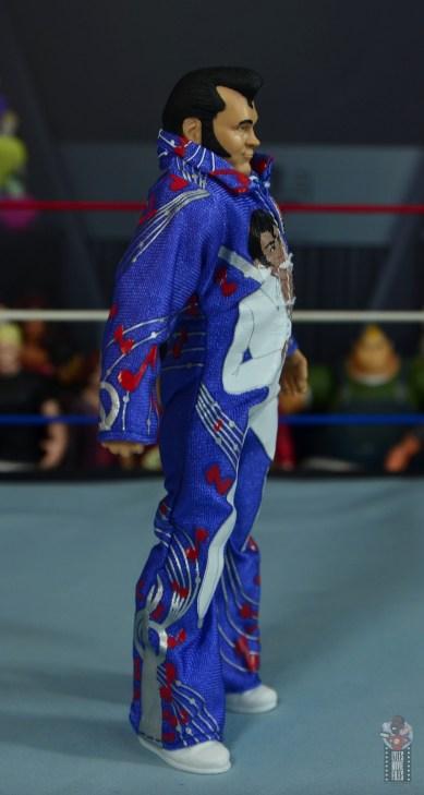 wwe retrofest honky tonk man figure review - jumpsuit right side
