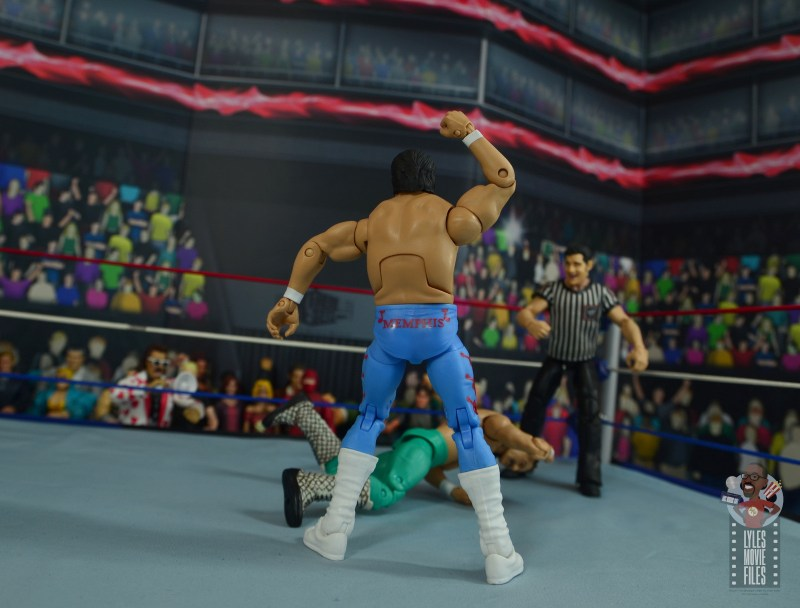 wwe retrofest honky tonk man figure review - twisting and shaking