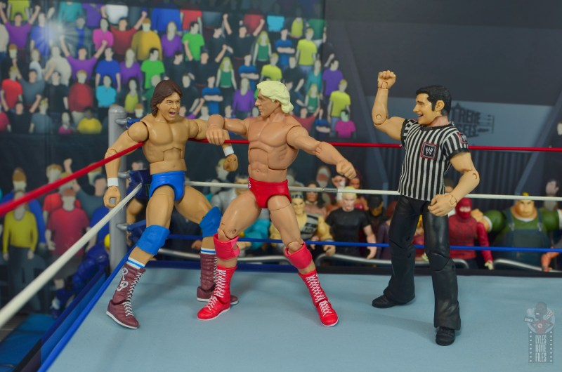 wwe retrofest ric flair figure review - chopping rowdy piper