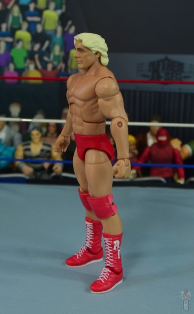 wwe retrofest ric flair figure review - left side
