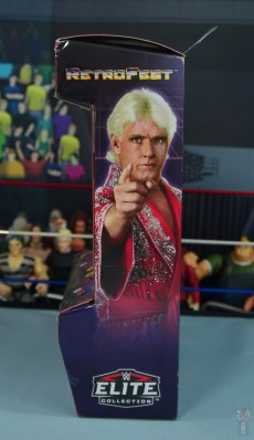 wwe retrofest ric flair figure review - package side