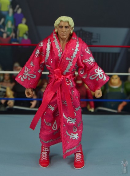 wwe retrofest ric flair figure review - robe front