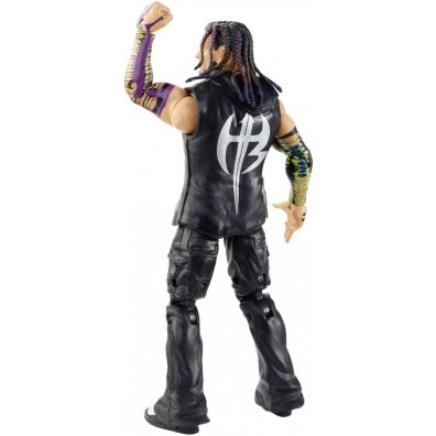 wwe survivor series elite jeff hardy figure - rear