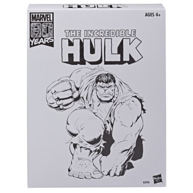 HASBRO MARVEL LEGENDS SERIES 80TH ANNIVERSARY EXCLUSIVE INCREDIBLE HULK Figure - pckging