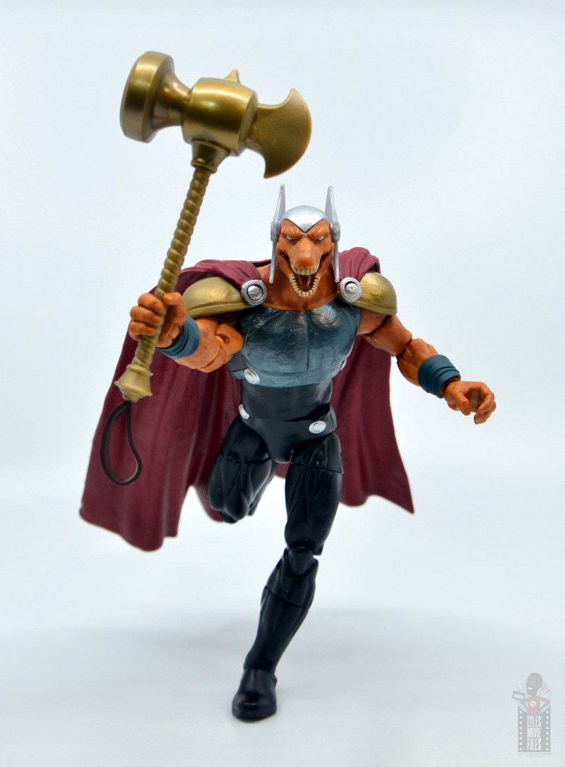 Marvel Legends Beta Ray Bill figure review - charging into battle