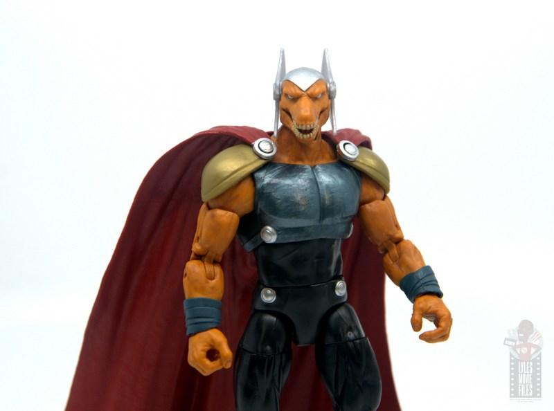 Marvel Legends Beta Ray Bill figure review - wide shot