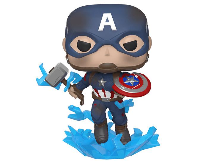 avengers endgame pop vinyl captain america figure