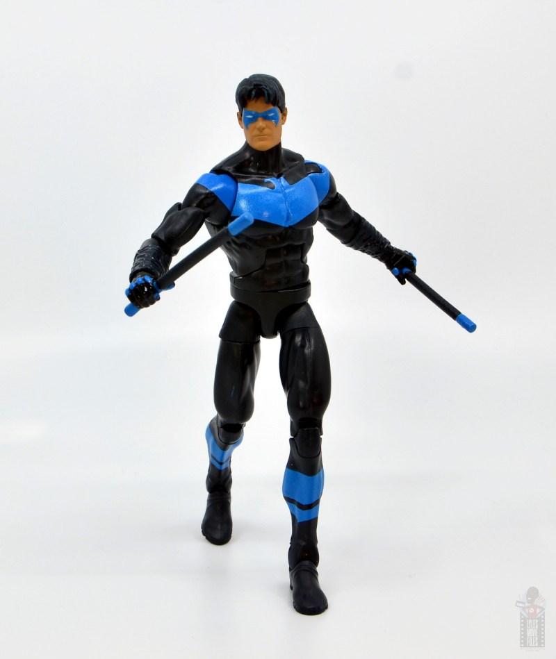 dc multiverse nightwing figure review - walking