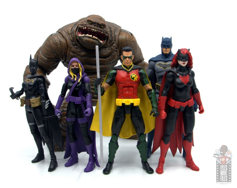 dc multiverse red robin figure review - detective comics team