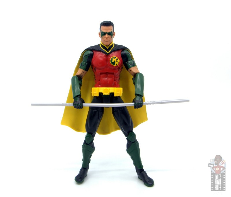 dc multiverse red robin figure review -ready for battle