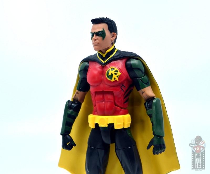 dc multiverse red robin figure review - side portrait