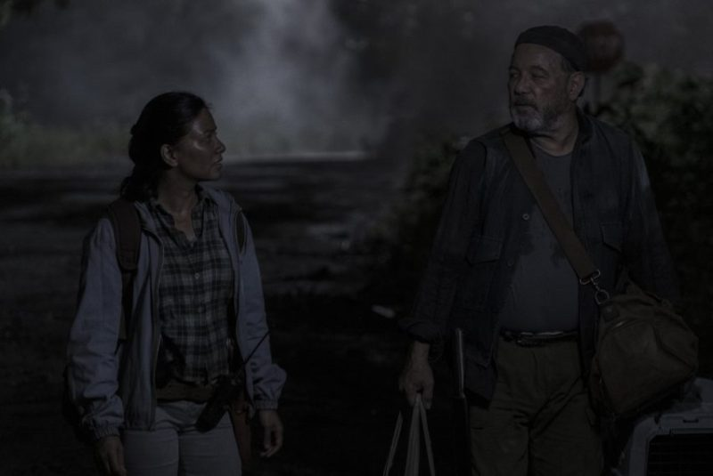 fear the walking dead - today and tomorrow review - grace and daniel