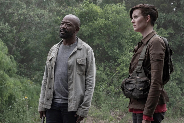 fear the walking dead you're still here review - morgan and al1