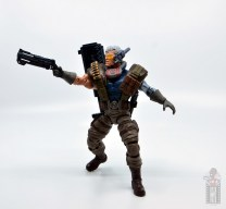marvel legends cable figure review - aiming blaster