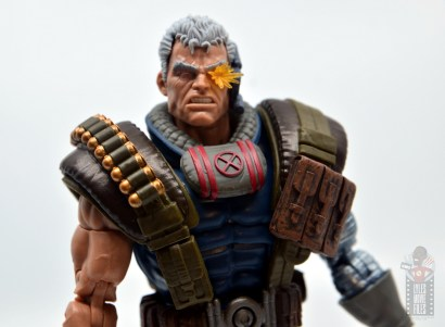 marvel legends cable figure review - main pic