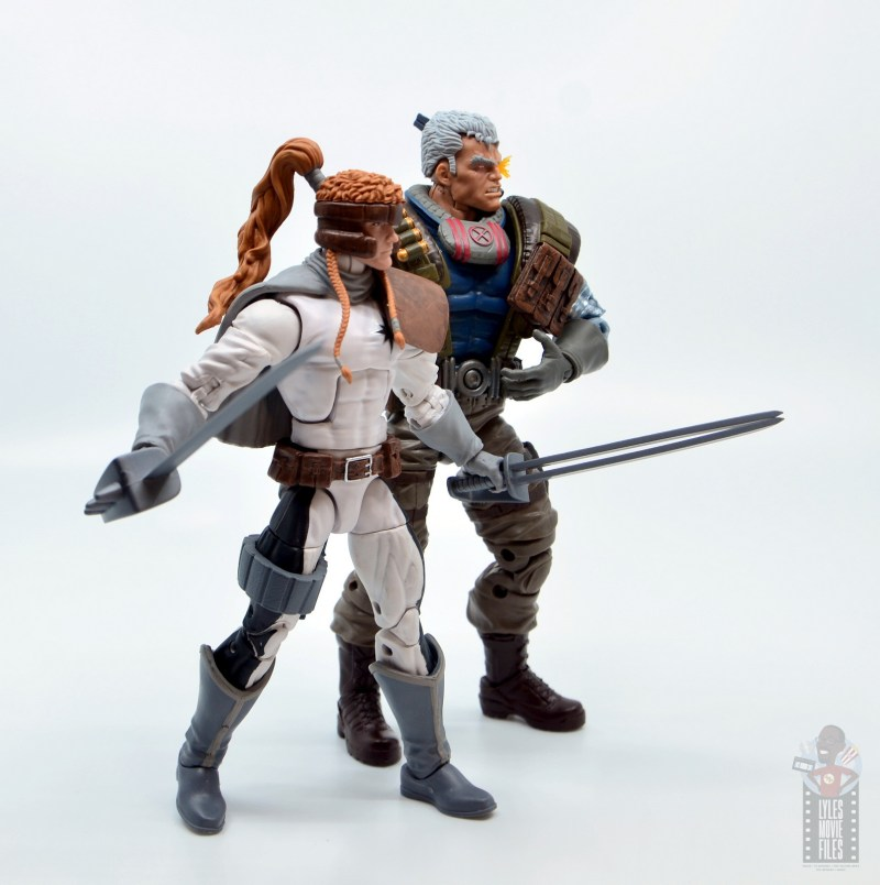 marvel legends cable figure review - with shatterstar
