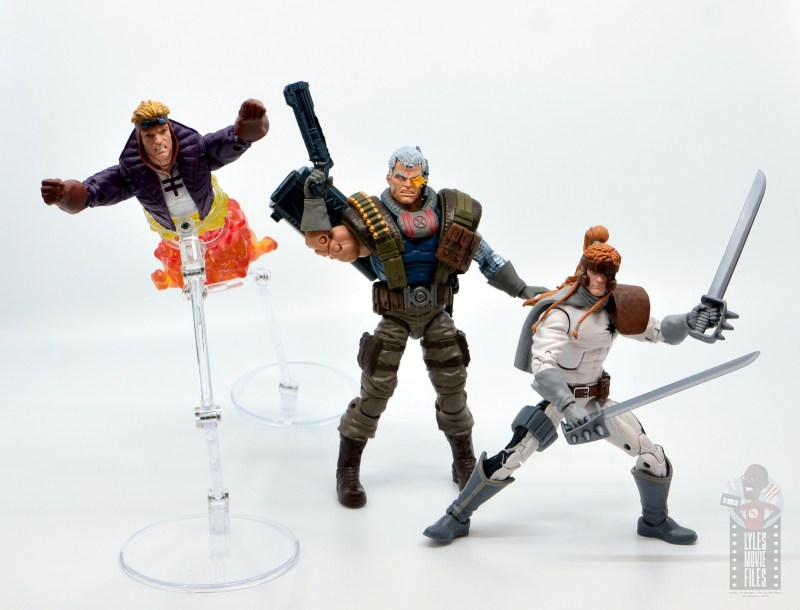 marvel legends cannonball figure review - ready for battle with cable and shatterstar