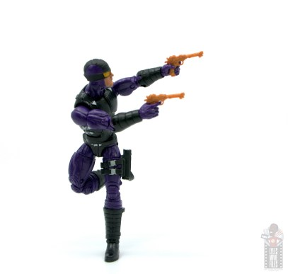 marvel legends paladin figure review - on the run aiming