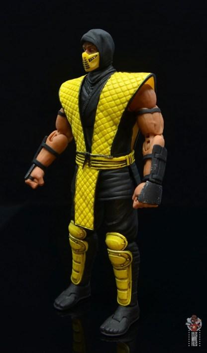storm collectibles scorpion figure review - left side