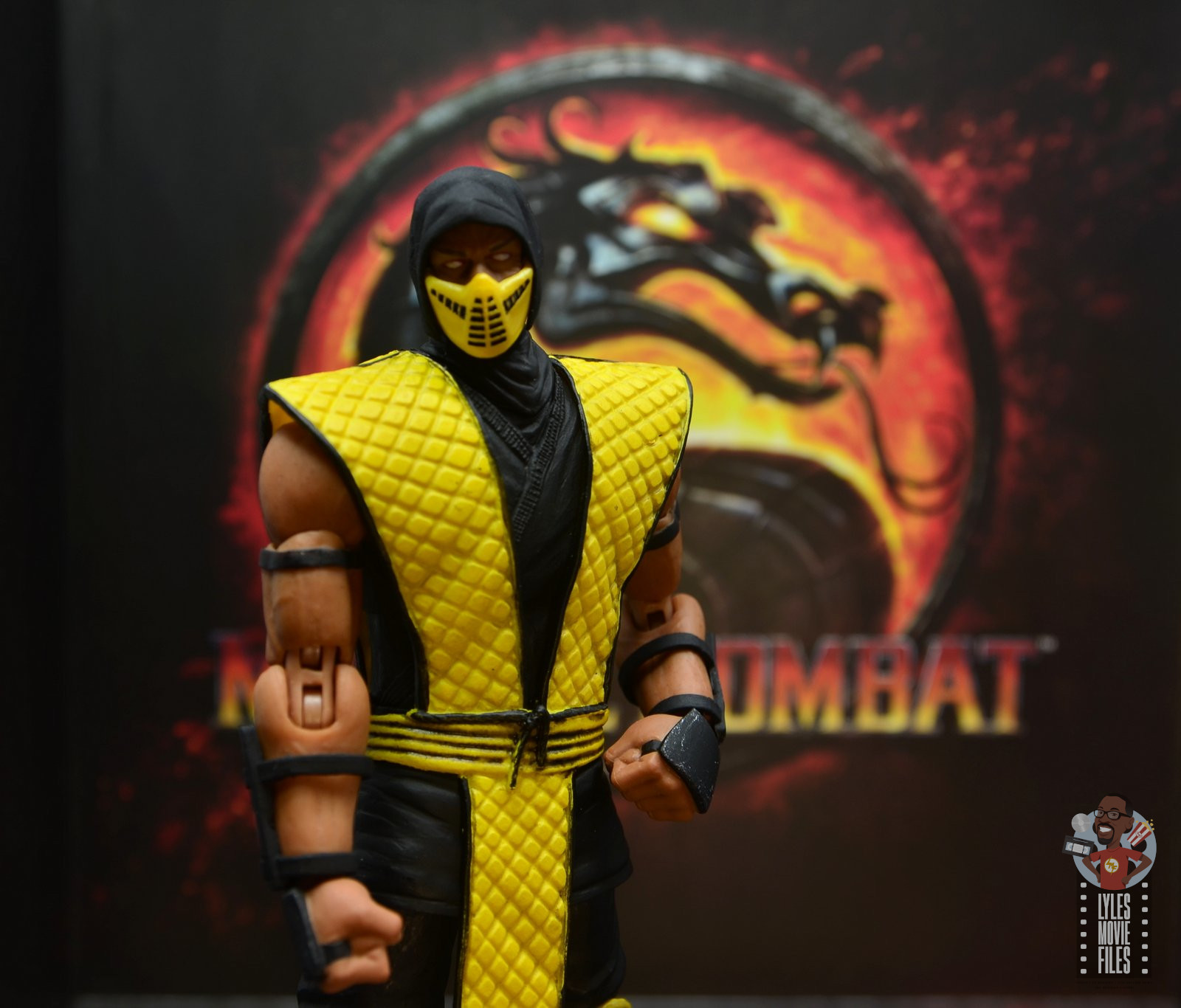 Storm Collectibles Mortal Kombat Scorpion Figure Review Lyles